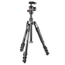Tripod Manfrotto Befree 2N1 tripod with clip and monopod function (black)