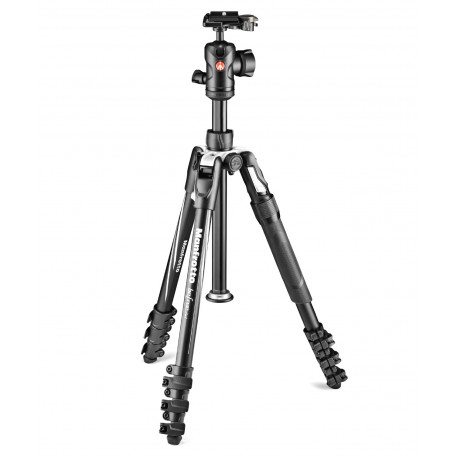 Manfrotto Befree 2N1 tripod with clip and monopod function (black)