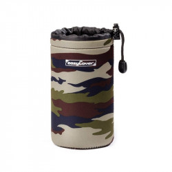 калъф EasyCover Neoprene Lens Case Camouflage L