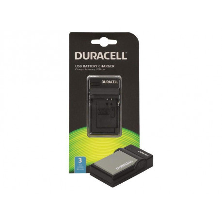Duracell DRO5942 USB Charger for the Olympus BLN-1