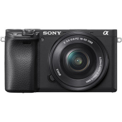 фотоапарат Sony A6400 (черен) + обектив Sony SEL 16-50mm f/3.5-5.6 PZ