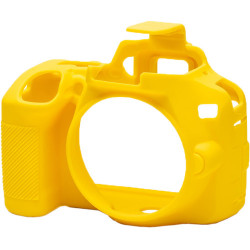 аксесоар EasyCover ECND3500Y - Силиконов протектор за Nikon D3500 (жълт)