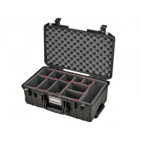 PELI CASE 1535 AIR TRECKPACK BLACK 015350-0050-110E