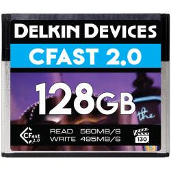 карта Delkin Devices DCFSTV128 CFast 2.0 128GB