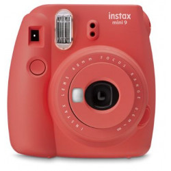 Fujifilm Instax mini 9 Instant Camera Poppy Red