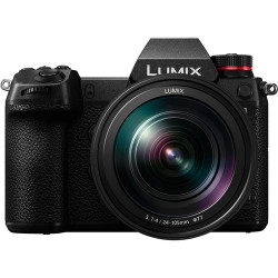 фотоапарат Panasonic Lumix S1 + обектив Panasonic S 24-105mm f/4 Macro OIS + батерия Panasonic Lumix DMW-BLJ31 + софтуер Panasonic S1 V-Log