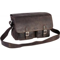 чанта Kalahari Kaama L-28 Leather + аксесоар Kalahari L-57 Калъф за филтри