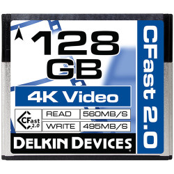 DELKIN DEVICES DDCFST560128 CFAST 2.0 128GB 560R/495W