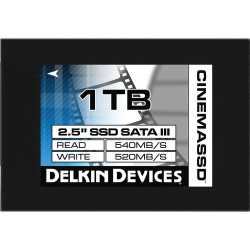 "SSD диск Delkin Devices SSD 1TB 2.5"" SATA III 540R/520W"