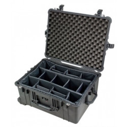 Case Peli Case 1610 with dividers (black)