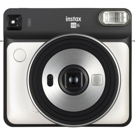 FUJIFILM INSTAX SQUARE SQ6 INSTANT CAMERA WHITE