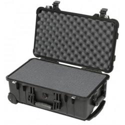 куфар Peli Case 1510 с пяна (черен) + аксесоар Peli Case 1519 Lid Organizer