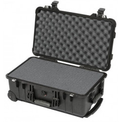 Case Peli Case 1510 with foam (black) + Accessory Peli Case 1519 Lid Organizer 1510-510-000E