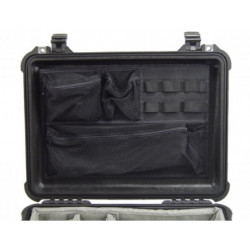 Accessory Peli Case 1508 Photo Lid Organizer for 1500 and 1520 suitcases