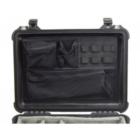 Peli Case 1508 Photo Lid Organizer for 1500 and 1520 suitcases