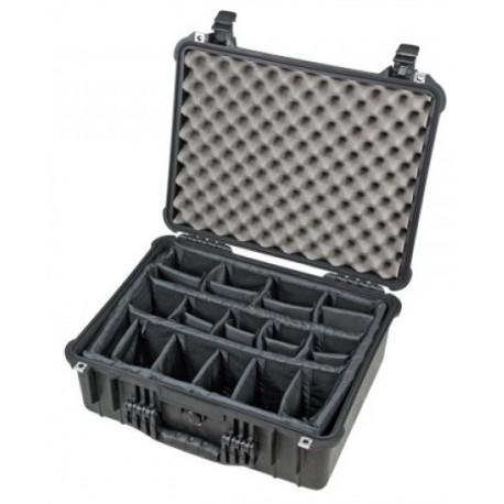 Peli Case 1550 with dividers (black)