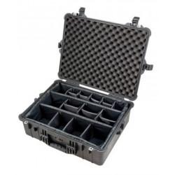 Peli Case 1600 с разделители (черен)