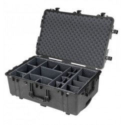 Case Peli Case 1650 with dividers (black)
