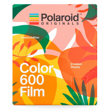 POLAROID ORIGINALS 600 COLOR FILM TROPICS EDITION