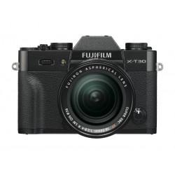фотоапарат Fujifilm X-T30 (черен) + обектив Fujifilm XF 18-55mm f/2.8-4 R LM OIS