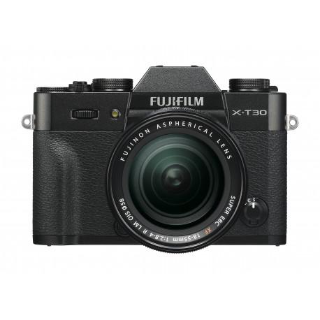 Camera Fujifilm X-T30 (черен) + Lens Fujifilm XF 18-55mm f/2.8-4 R LM OIS