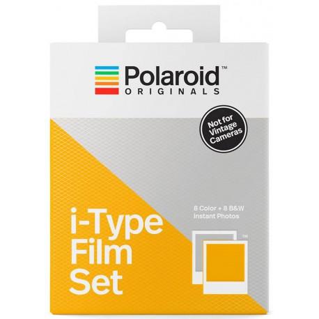 POLAROID ORIGINALS I-TYPE FILM SET COLOR - BW