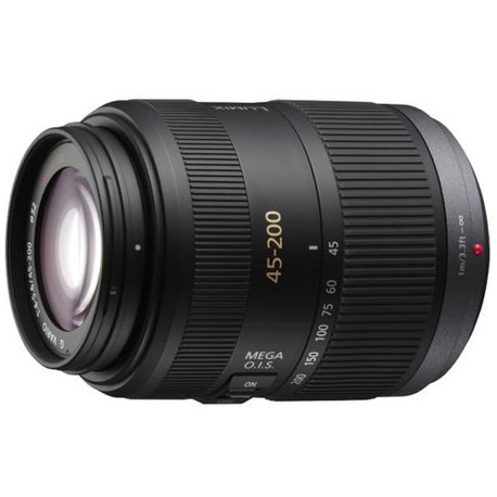 Panasonic Lumix G 45-200mm f/4-5.6 OIS II (употребяван)