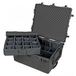 Peli Case 1690 with dividers (black)