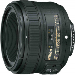 AF-S Nikkor 50mm f/1.8G (употребяван)