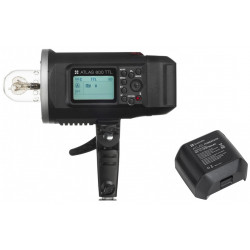 Flash Quadralite Atlas 600 TTL + Battery Quadralite Atlas 600 Power Pack
