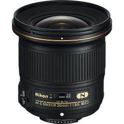 обектив Nikon AF-S 20mm f/1.8G ED (употребяван)