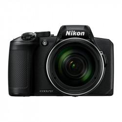 фотоапарат Nikon Coolpix B600 (черен) + чанта Nikon Case P-08 (черен)