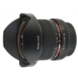 Lens Samyang 8mm f/3.5 Fish-eye CS II - CANON EF (употребяван)