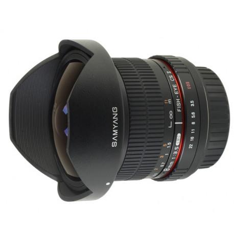 Samyang 8mm f/3.5 Fish-eye CS II - CANON EF (употребяван)