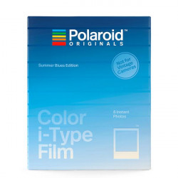 Film Polaroid Originals i-Type Summer Blue colored