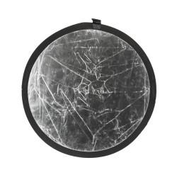 Reflector Quadralite Reflective disc 2 in 1 - 60 cm silver / white