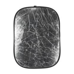 Reflector Quadralite Reflective disk 2 in 1 - 95x125 cm silver / white