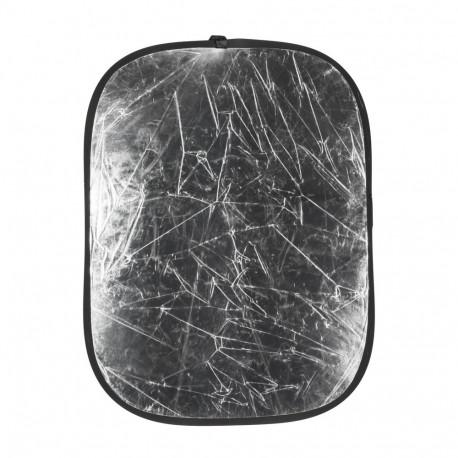 QUADRALITE 95 X 125 CM SILVER/WHITE REFLECTOR