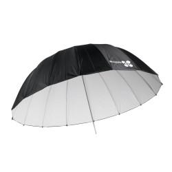 Quadralite Space Параболичен бял отражателен чадър 185 см