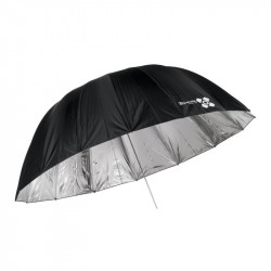 Umbrella Quadralite Space Parabolic silver reflective umbrella 150 cm