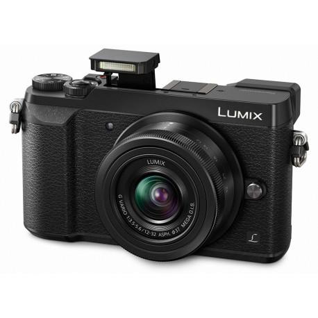 Panasonic LUMIX GX80 + обектив 12-32mm f/3.5-5.6 MEGA OIS (употребяван)