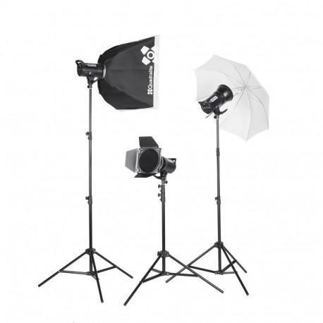 Quadralite UP! 700 Kit - studio lighting kit