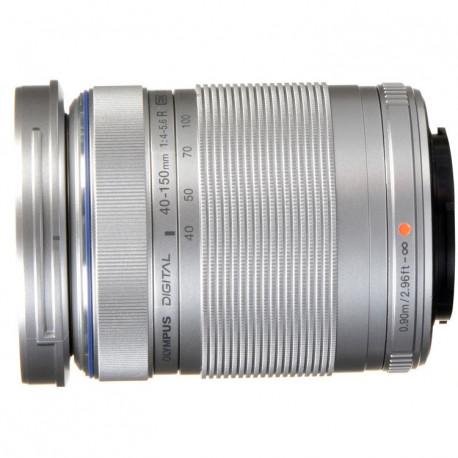 Olympus ZD Micro 40-150mm F/4-5.6 ED R MSC (сребрист)
