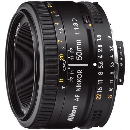 Nikon AF Nikkor 50mm f/1.8D (употребяван)