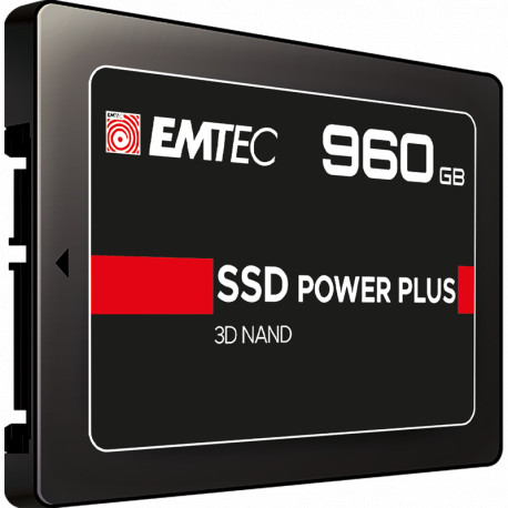 "EMTEC SSD POWER PLUS 960GB 2.5"" R:520/W:500MB/S"