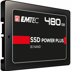 "SSD диск Emtec SSD Power Plus 480GB 2.5"" R:520MB/S"