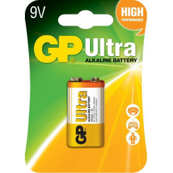Battery GP Ultra 6LF22 9V 215mAh