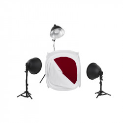 Kit Quadralite LH-35 LED Light Shed Kit - subject photography kit