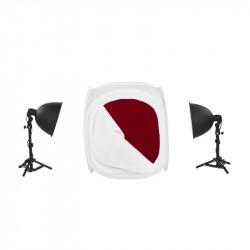 Kit Quadralite LH-30 LED Light Shed Kit - комплект за предметна фотография