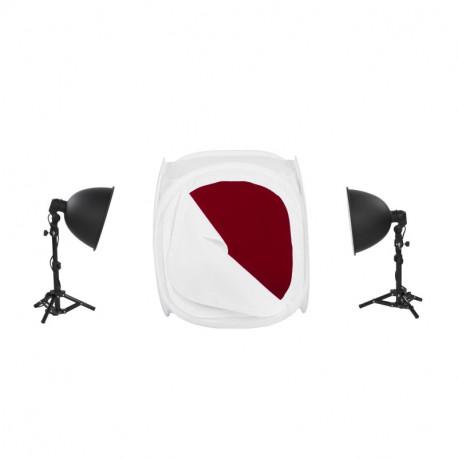 Quadralite LH-30 LED Light Shed Kit - subject photography kit
